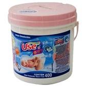 Lenço Umedecido Balde Rosa 400 UN Use It
