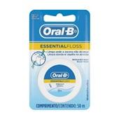 Fio Dental Essential Floss Encerado 50m 1 UN Oral-B