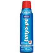 Desodorante Antisséptico para os Pés Jato Seco Tenys Pé Original 92g 1 UN Baruel