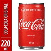 Refrigerante Coca Cola Lata 220ml 1 UN
