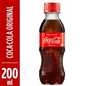 Refrigerante Coca Cola Garrafa 200ml 1 UN
