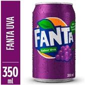 Refrigerante Fanta Uva Lata 350ml 1 UN