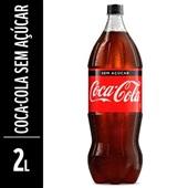 Refrigerante Coca Cola Zero Garrafa 2L 1 UN