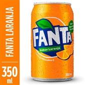 Refrigerante Fanta Laranja Lata 350ml 1 UN