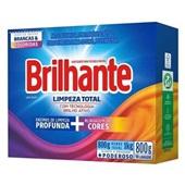 Detergente em Pó Limpeza Total CX 800g 1 UN Brilhante