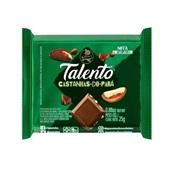 Chocolate ao Leite Castanha do Pará 25g 1 UN Talento