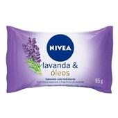 Sabonete Hidratante Lavanda e Óleos 85g 1 UN Nivea