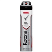 Desodorante Aerosol Masculino Antibacterial 150ml 1 UN Rexona