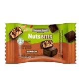 Bombom NutsBITES Castanhas Amendoim e Nibs de Cacau e Canela Cobertura de Chocolate Meio Amargo Vegano 15g 1 UN Banana Brasil