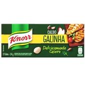 Caldo de Galinha 114g 12 Cubos 1 UN Knorr