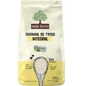 Farinha de Trigo Integral Orgânico 500g 1 UN Mãe Terra