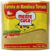 Farinha Mandioca Torrada 500g Mestre Cuca