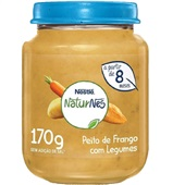 Papinha Sabor Peito de Frango com Legumes 170g Nestlé