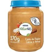 Papinha Sabor Feijão Carne e Arroz 170g Nestle