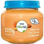Papinha Sabor Gema de Ovo, Carne e Legumes 115g Nestlé