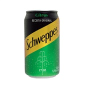 Refrigerante Schweppes Citrus Lata 350ml 1 UN