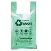Sacola Plástica 48x55cm Verde PT Com 500 UN Altaplast