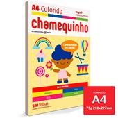 Papel Sulfite Chamequinho Cores Sortidas 75g A4 21x29,7cm 100 FL Chamex