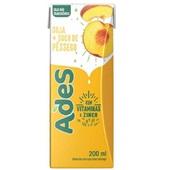 Bebida à Base de Soja Sabor Pêssego 200ml 1 UN Ades