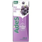 Bebida à Base de Soja Sabor Uva 200ml 1 UN Ades