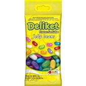 Bala Jelly Beans Deliket Frutas 70g 1 UN Dori