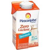 Leite UHT Desnatado Zero Lactose 500ml 1 UN Piracanjuba