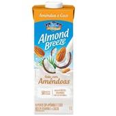 Bebida Vegetal com Amêndoas Almond Breeze Sabor Coco 1L 1 UN Piracanjuba