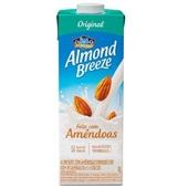 Bebida Vegetal com Amêndoas Almond Breeze Sabor Original 1L 1 UN Piracanjuba