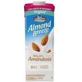 Bebida Vegetal com Amêndoas Almond Breeze Sabor Zero Açúcar 1L 1 UN Piracanjuba