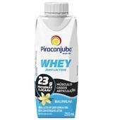 Bebida Láctea Whey Zero Lactose Sabor Baunilha 250ml 1 UN Piracanjuba