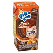 Bebida Láctea UHT Achocolatado Zero Lactose 200ml 1 UN Pirakids