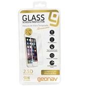 Película de Vidro Premium com Borda Branca para Iphone 6 Plus 1 UN Geonav