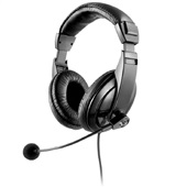 Headset Profissional Giant P2 Preto PH049 1 UN Multilaser