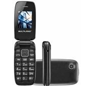 Celular Flip Up Vita Dual Chip MP3 Preto P9022 1 UN Multilaser