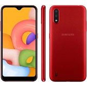 Smartphone Galaxy A01 32GB Vermelho 1 UN Samsung