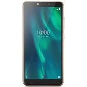 Smartphone Dourado Tela 5.5 Polegadas Sensor de Digitais 32GB 3G 1GB RAM Câmera traseira 5MP+5MP frontal P9131 1 UN Multilaser