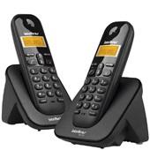 Telefone sem Fio +1Ramal Iden até 7 Ramais TS 3112 Intelbras