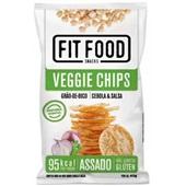 Fit Food Veggie Chips Grão de Bico sabor Cebola e Salsa 40g 1 PT Tyrrels
