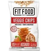 Fit Food Veggie Chips Grão de Bico sabor Tomate e Manjericão 40g 1 PT Tyrrels