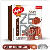Pudim de Chocolate Zero Açúcar 30g Apti