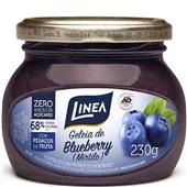 Geleia de Blueberry Zero Açúcar 230g 1 UN Linea
