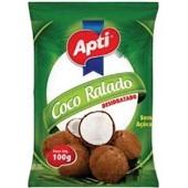 Coco Ralado Desidratado Sem Açúcar 100g 1 UN Apti