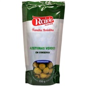 Azeitona Verde sem Caroço 150g 1 UN Raiola