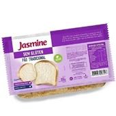 Pão sem Glúten Tradicional Fatiado 350g 1 UN Jasmine