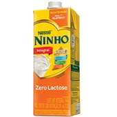 Leite UHT Forti+ Integral Zero Lactose 1L 1 UN Ninho