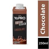 Bebida Láctea 15g High Protein Sabor Chocolate 250ml 1 UN Yopro