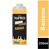 Bebida Láctea 15g High Protein Sabor Banana 250ml 1 UN Yopro