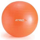 Bola de Ginástica com Bomba 65cm Laranja 1 UN Atrio