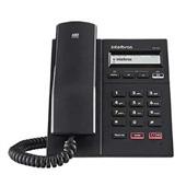 Telefone com Fio IP LED com POE Preto TIP 125I Intelbras