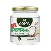 Óleo de Coco Sem Sabor 200ml 1 UN Copra